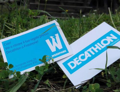Woodpark e Decathlon Frosinone hanno un regalo per te!