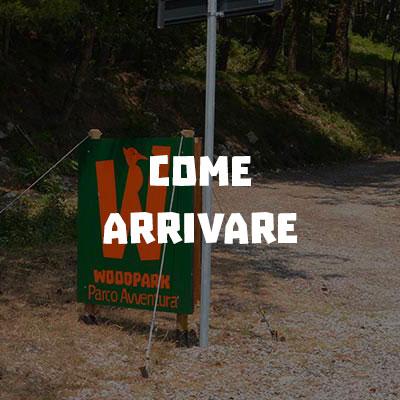 Woodpark Parco Avventura Itri | Come arrivare
