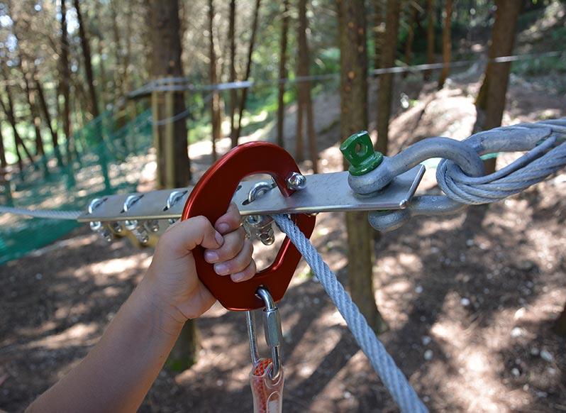 Sicurezza bambini | Parco Avventura Woodpark
